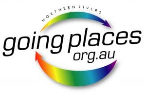 Going Places Logo - Ballina shire, Lismore, Byron Bay, Grafton, Tweed, Kyogle, Casino